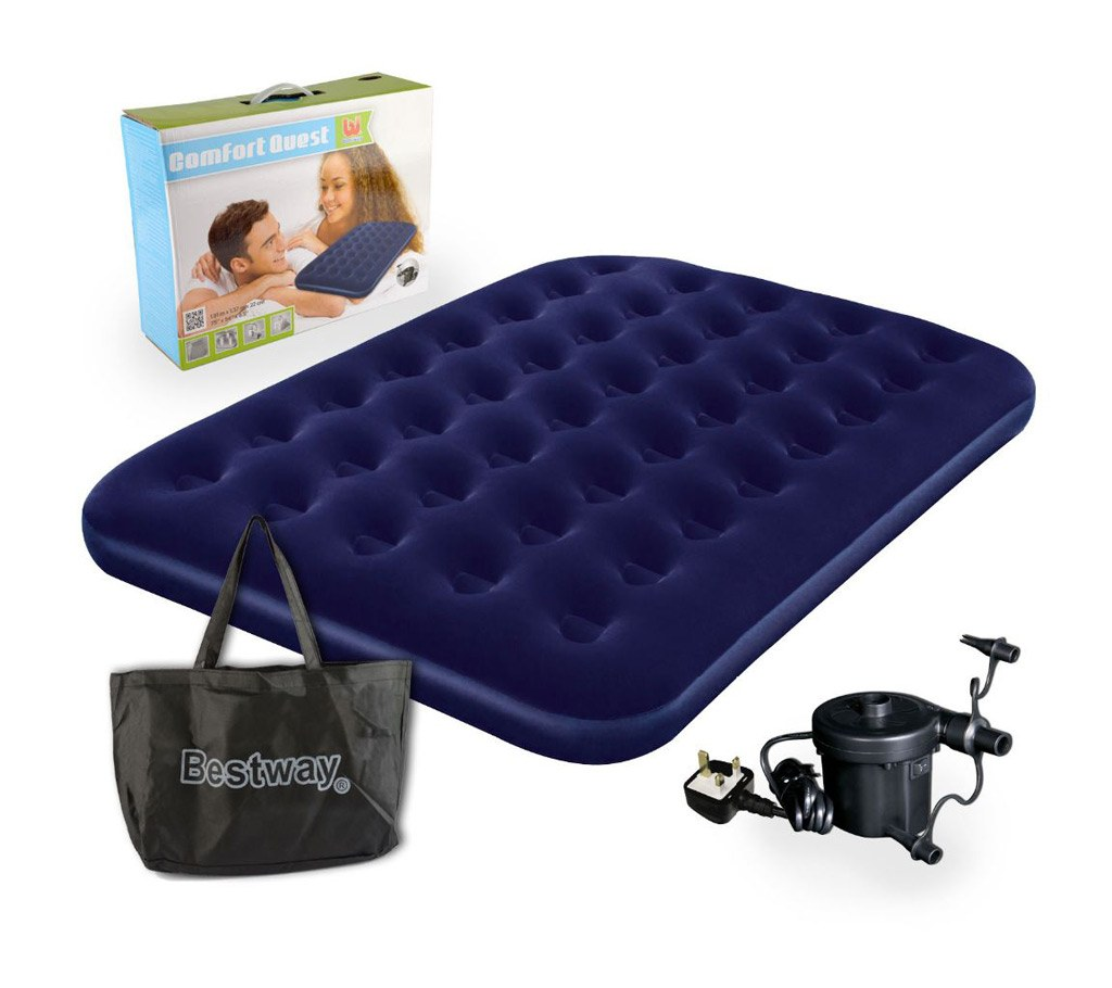 jilong single inflatable bed with