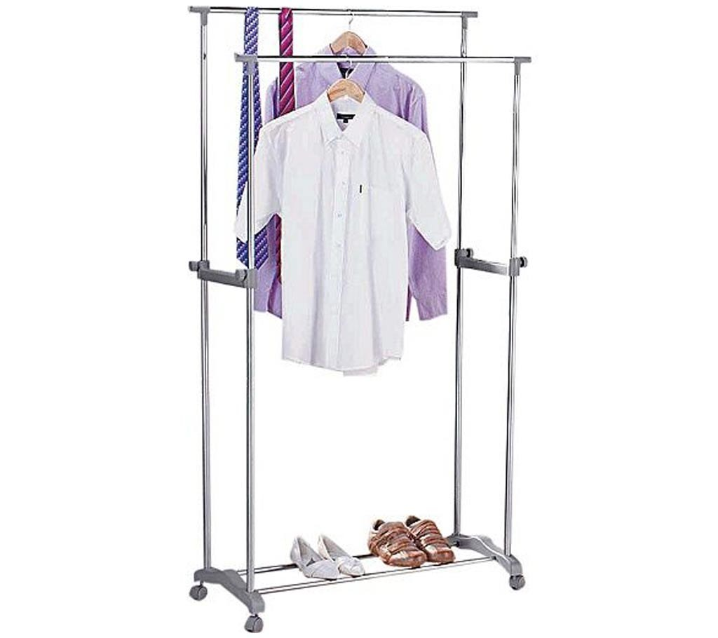 clothes hanging stand & shoes rack