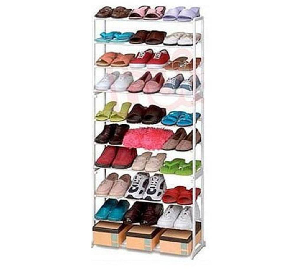 10 layers shoe rack