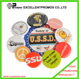 customized size and logo pin tin button badge