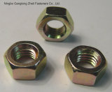 din934 4.8 grade carbon steel hexgon head nuts with yzp