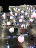 hanging inflatable color changing led ball