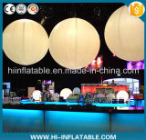 popular party decoration led lighted inflatable balls balloon