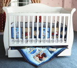 wooden baby cot for australia